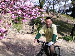 楽しくサイクリング